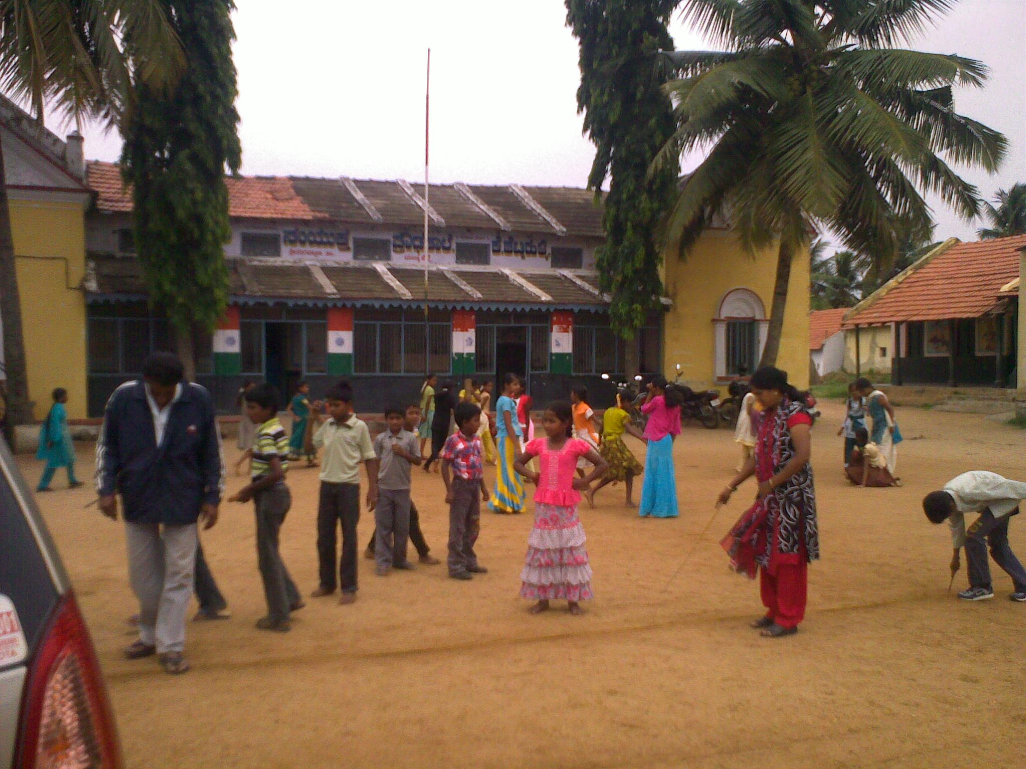 Government School in Shetty Halli Village