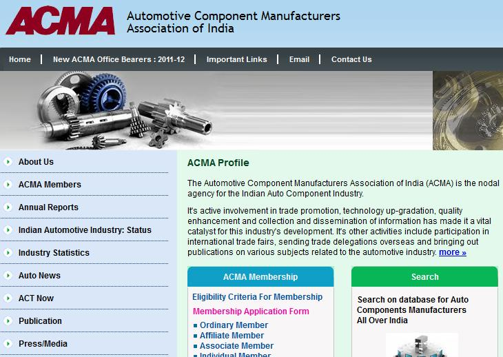 Automotive Component Manufacturers - Leaders in OEM Supplies