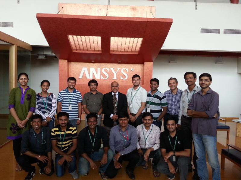 Customer Delight - Ramanan Delivery in ANSYS Workshop