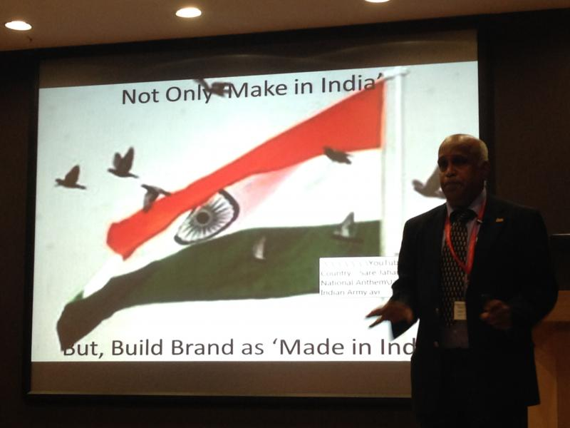Build Brand - Made in India - Ramanan at Guru Speak Session in L and T
