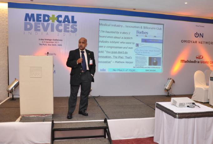 RAISE CEO at MEDDEVICES 2011