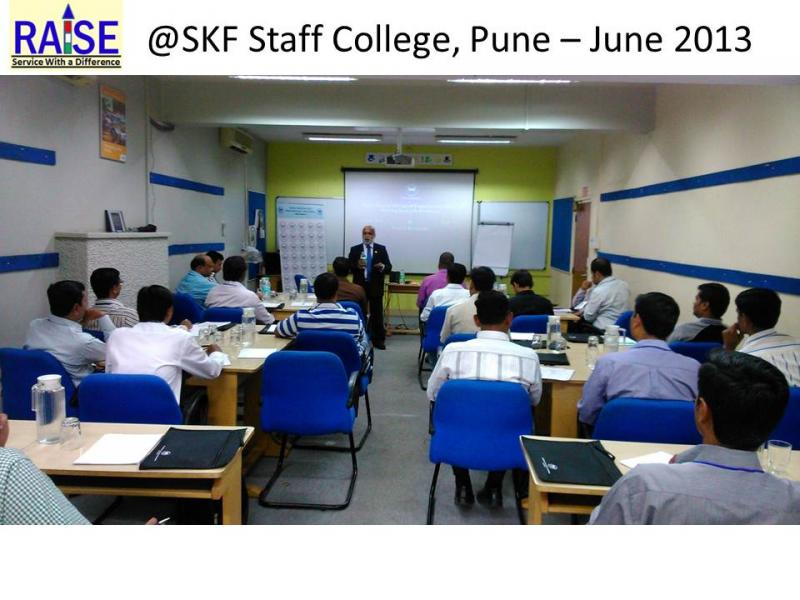 RAISE at SKF Staff College Pune