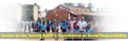 RAISE at Giving Back to Society Through RICE
