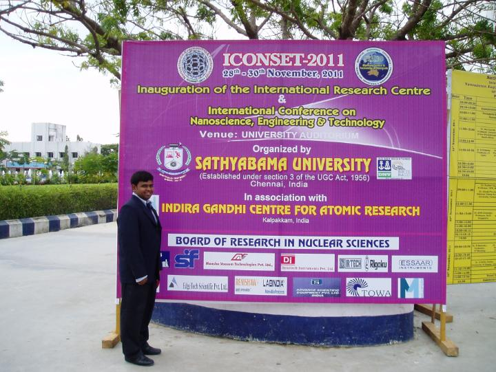 Gowrishankar First Peer Reviewed International Conference Paper