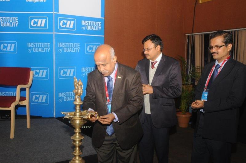 Ramanan's Blessed Moment at CII Institute of Quality
