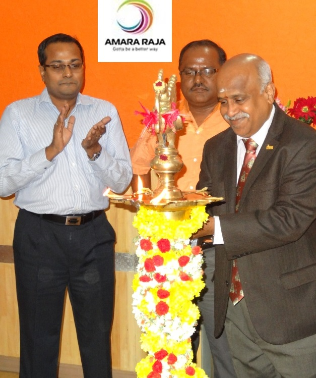 Ramanan with Leaders in Battery - Amararja