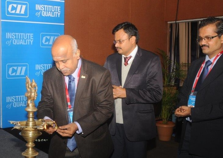 Ramanan at CII Institute of Quality - Six Sigma National Award 2013