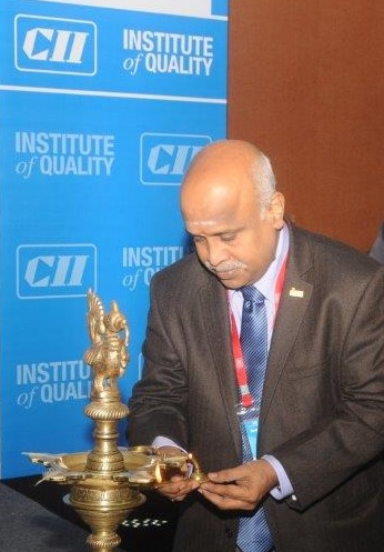 Ramanan at CII Institute of Quality