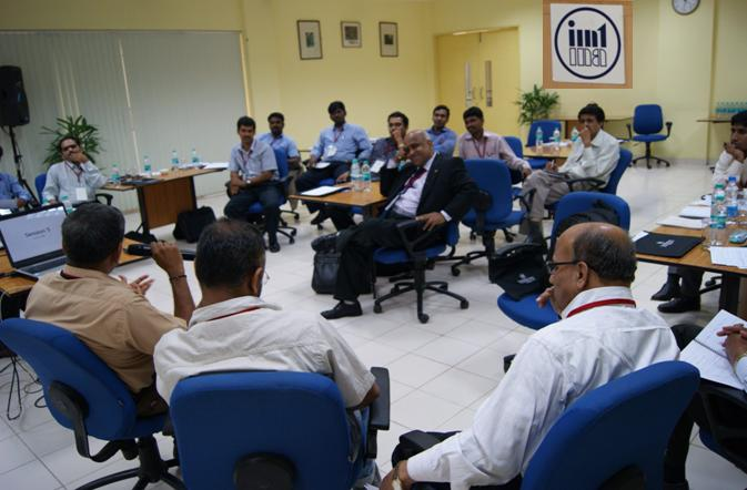An Interactive Session in Sr. Executives Program