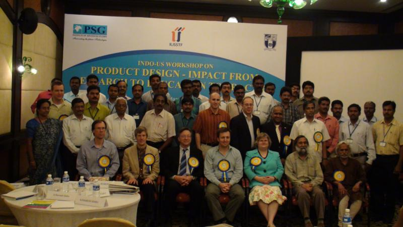Ramanan with Invited International Speakers in IUSSTF Workshop