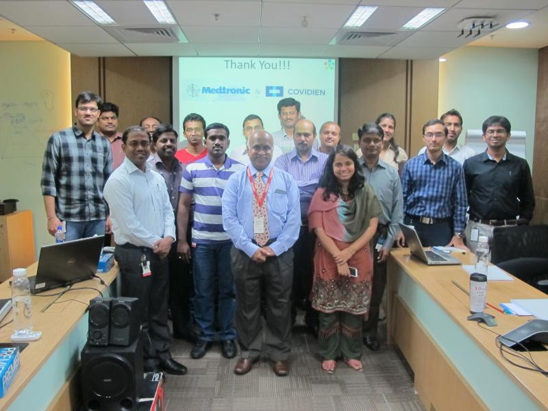 Ramanan with Noble Technologists of Medtronic