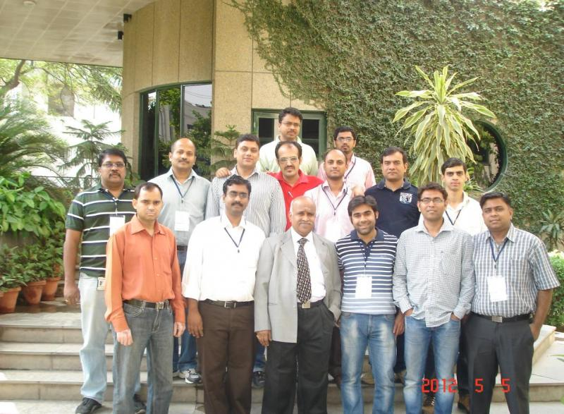 With Particpants at Delhi